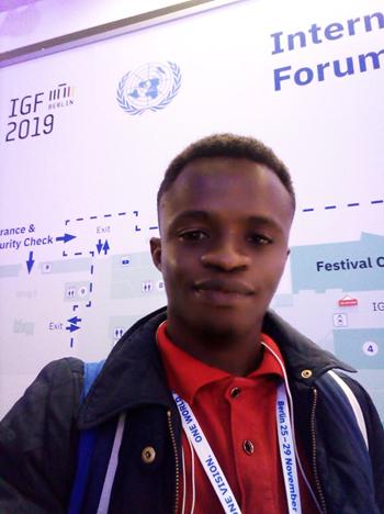 Shadrach Ankrah-IGF Youth Ambassadors Program